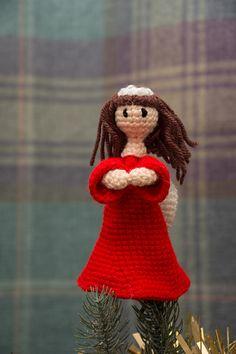 Angel Tree Topper - free crochet pattern by Fiona Matters
