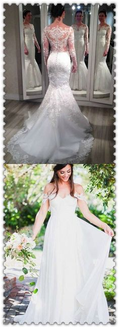 Wedding Dress Trends from Spring 2019 Bridal,Wedding dresses that fit your style and budget! Cheap White Wedding Dresses, Wedding Dresses Under 100, Second Hand Wedding Dresses, White Lace Wedding Dress, Affordable Wedding Dresses, Wedding Dress Trends, Wedding Dresses Plus Size, Princess Wedding Dresses, Bridal Wedding Dresses