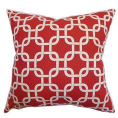 Found it at Wayfair - Sessums Geometric Cotton Throw Pillow