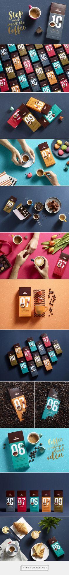 Elite Coffee Capsules packaging designed by Shake Design- Maayan Reshef מעיין רשף (Israel) - http://www.packagingoftheworld.com/2016/03/elite-coffee-capsules.html