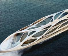 Zaha Hadid on boats...