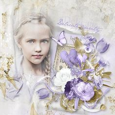 Delicate purity by Celinoa Design http://digital-crea.fr/shop/index.php… Photo Karina Egorova - Lovely Karina use with permission