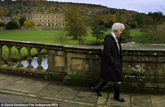 The Duchess worked hard at running Chatsworth, which her husband opened to the public, and its farm shop