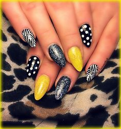 almond shaped acrylic nails - Google Search
