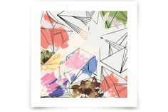Industrial Crystals Art Prints by Hilary Hinrichs at minted.com
