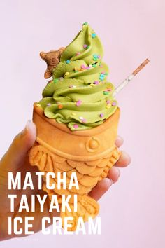 Starter Matcha Organic Green Tea Powder contains the antioxidants of regular green tea, making it an effective way to bolster the immune system and it's very healthy of your skin. Matcha Ice Cream, Matcha Green Tea Powder, Healthy Drinks, Fun Desserts, Treats, Pure Products, Baking, Sweet, Meals