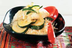Curry van kabeljauw en courgette - Recept - Allerhande