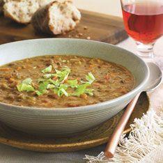 French lentil soup