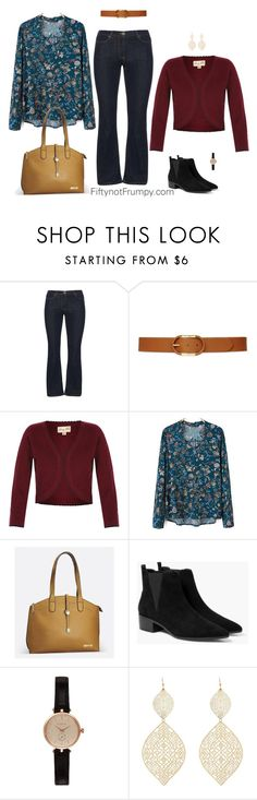 """""""Casual Look For A Pear Shape Body"""" by fiftynotfrumpy on Polyvore featuring Frapp, Lauren Ralph Lauren, Avenue, MANGO, Barbour, Charlotte Russe, women's clothing, women's fashion, women and female"""