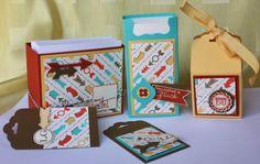 Polly kreativ: Stempeltreff - Taschentuchverpackung, Zettelbox und andere Sachen mit SU