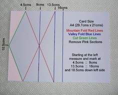 Upright Diamond-Fold Easel Card by Sheila Weaver - Joanna Sheen