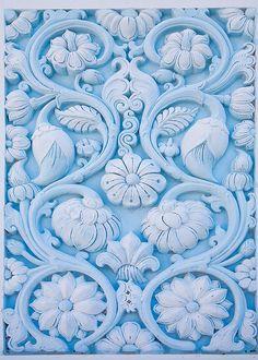 hindu temple #blue
