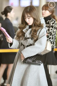 SNSD Girls Generation Tiffany fashion airport