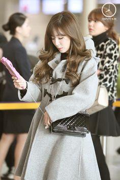 SNSD Girls Generation Tiffany fashion airport