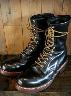 REDWING Logger Boots Vibram430 | BRASS BLOG