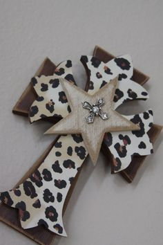 Stacked cross by GypsyBirdLee on Etsy