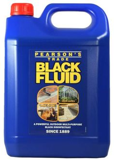 Black Fluid has been in the market for more than 120, beginning as a heavy duty multi-purpose disinfectant for protecting business work environments. Today, Black Fluid is a powerful yet environmentally friendly disinfectant for cleaning outdoor areas such as paths, patios, driveways and drains.