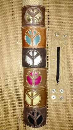 Leather peace bracelets that hold money!  New Arrivals For Fall 2015! | Cranberry Corners