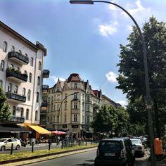 Nice street corner building in Schöneberg, Berlin.