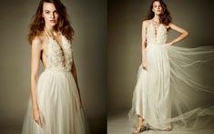 #anawiannet One Shoulder Wedding Dress, Wedding Dresses, Fashion, Bride Dresses, Moda, Bridal Gowns, Fashion Styles, Wedding Dressses