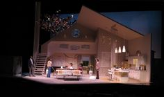 What I Learned in Paris. Alliance Theatre. Scenic design by Brian Sidney Bembridge. 2012