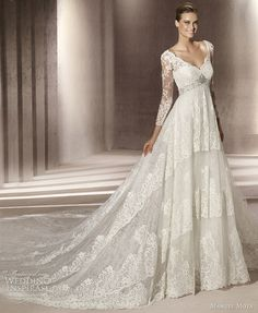 Manuel Mota for Pronovias 2012 Wedding Dresses