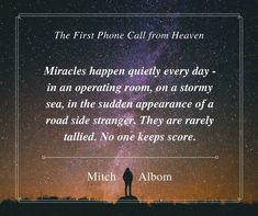 Mitch Albom, Descriptive Words, Stormy Sea, Miracles Happen, Shit Happens