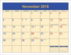 The 134 Best Calendar Printable 2018 Images On Pinterest Calendar