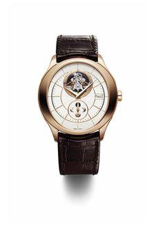 """La montre """"Gouverneur Tourbillon"""" de Piaget http://www.vogue.fr/joaillerie/le-bijou-du-jour/diaporama/la-montre-gouverneur-de-piaget/10282#4"""