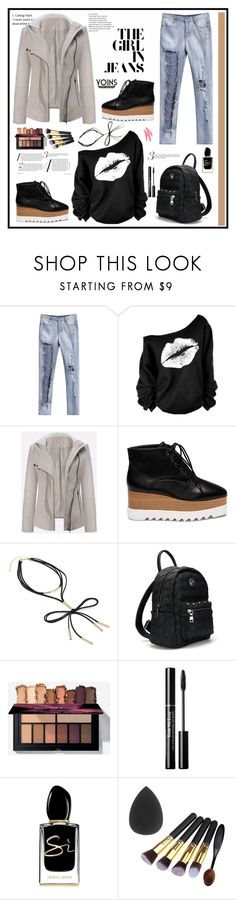 """""""Yoins...5"""" by cindy88 ❤ liked on Polyvore featuring Giorgio Armani"""