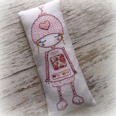 little pocket robot by LiliPopo on Etsy