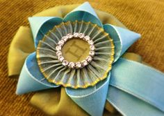 Gorgeous Ribbon rosette - Cathe Holden, Just Something I Made