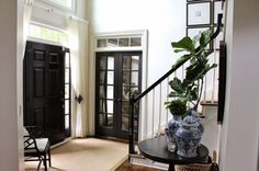 I love these Luxe Hacks, especially the black door. http://www.brit.co/affordable-expensive-home-hacks/