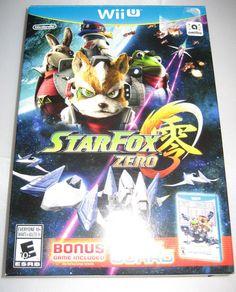 Star Fox Zero (Nintendo Wii U 2016) with BONUS GAME: STAR FOX GUARD  $19.15 (7 Bids)End Date: Sunday Sep-4-2016 19:30:55 PDTBid now | Add to watch list