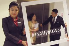 #InAHyattWorld reminds strangers the importance of real, not digital, human relationships.