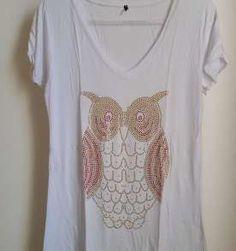 camiseta de coruja