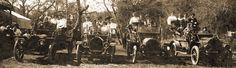 Car Rally at Steckle Park, Santa Paula, CA 1910