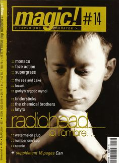 Radiohead - Magazine Covers - 1997 - Magic!