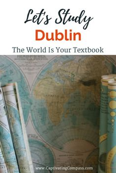 Let's Study Dublin Bundle. an ebook bundle for family travel and learning on location. Build your curriculum around a destination. Find all you need to learn about Dublin is this new ebook. Geography For Kids, Teaching Geography, Geography Activities, Travel With Kids, Family Travel, Dublin Travel, London Travel, Ireland Travel, Travel Europe