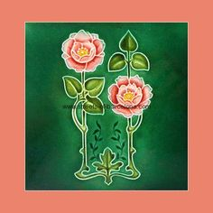 """From """"Art Nouveau Tiles with Style"""" by Robert Smith, art-nouveau-20, Streets of Barcalona"""