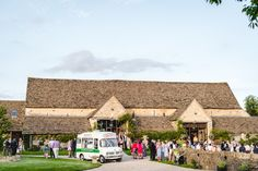 Winstones Ice Cream at the Great Tythe Barn near Tetbury
