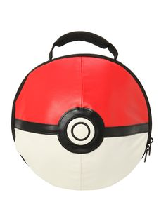Pokemon Poke Ball 3D Lunch Bag | Hot Topic