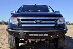 ADD F252101250103 2011-2017 Ford Ranger T6 Venom Front Bumper With Light Bar Mount Ford Ranger Wildtrak, Desert Design, Bar Lighting, Low Lights, Deserts, Venom, Cars, Autos, Postres