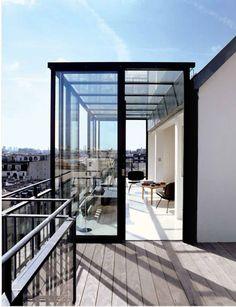 A terrace in Paris? Oui,oui!