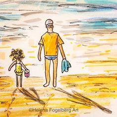 Heading for the beach! I wish!