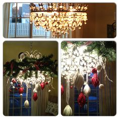Christmas Chandelier - Easy and Cheap!