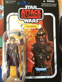 Star Wars The Vintage Collection Zam Wessell Action Figure 2010 Hasbro Star Wars Action Figures, Custom Action Figures, Figuras Star Wars, Star Wars Room, Star War 3, Star Wars Collection, Retro Toys, Clone Wars, Love Is Sweet