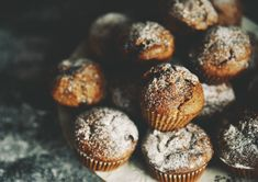 muffiny Healthy Sweets, Tea Time, Food And Drink, Breakfast, Recipes, Cupcakes, Morning Coffee, Cupcake Cakes, Recipies