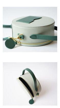 b68027965bb1 Overview: Design  Leather Circle Bag Circle Purse Crossbody Bag Round Bag  Round Purse In