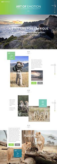 DxO Labs by yul , via Behance web design layout